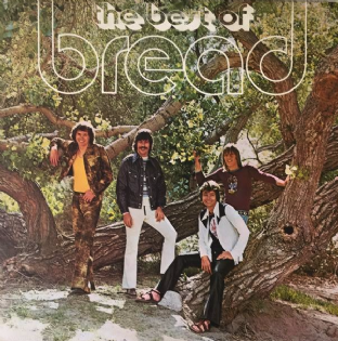 Bread ‎- The Best Of Bread (LP) (VG-/VG-)
